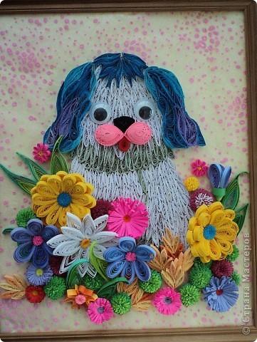 Ирина 12 лет, вот такой голубой щенок...:)))) фото 5