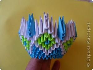 1.Вот такая конфетница получилась у меня!))  фото 12