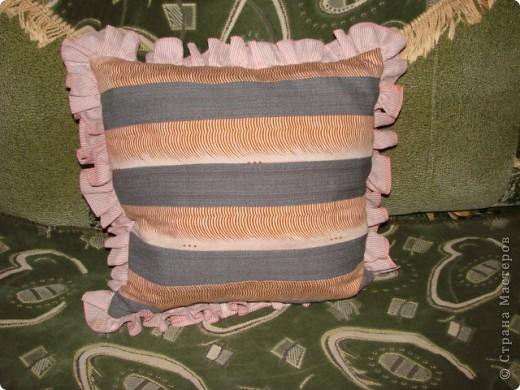 Подушка с ромашкой. фото 3