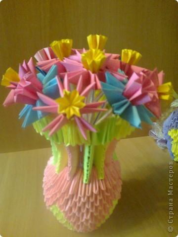 цветочки в вазочке фото 1
