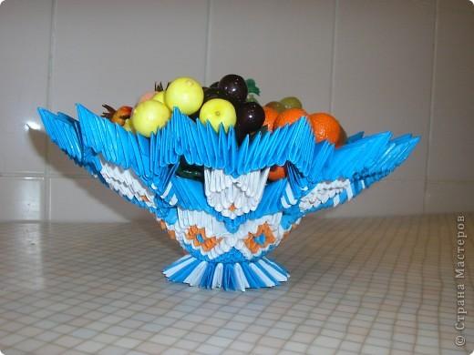 Модульное оригами - конфетница