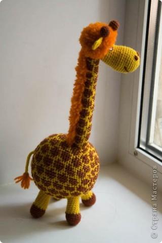Игрушка Вязание крючком Жирафа
