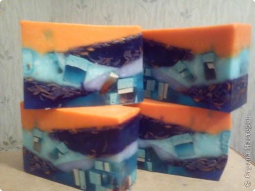 Мыло из детского и основы (продолжение) фото 9