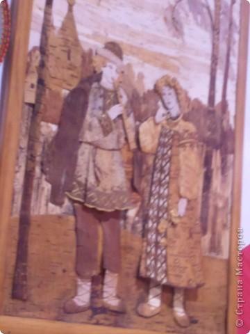 """Сегодня с младшей дочкой побывали на выставке - ярмарке """"Ладья"""" зима 2012,впечатлений ...ну просто переполняют,не могу удержаться ,чтоб не поделиться с вами Вот такая красотища хохломской лавочки встречает нас при входе фото 64"""