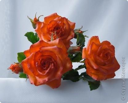 Вот такое розовое настроение у меня было... и вот что из этого получилось. Все цветы слеплены из готовых полимерных глин(холодный фарфор) modern clay, luna clay, Thai clay. фото 6