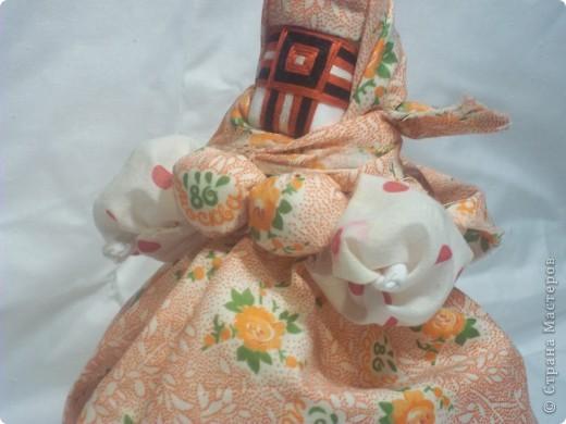 Кукла Кубышка-Травница – славянская обереговая кукла.  фото 1