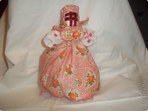 Кукла Кубышка-Травница – славянская обереговая кукла.  фото 3