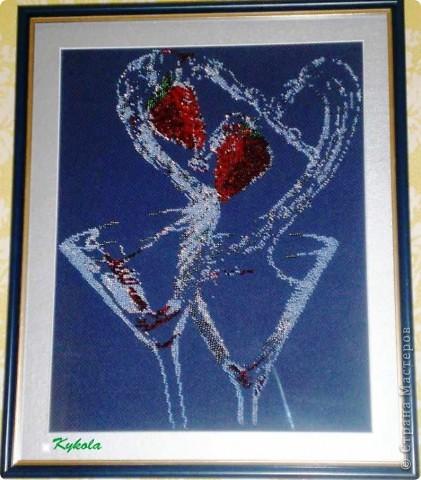 Вышивала в подарок отцу (примерно 1998 год) фото 7