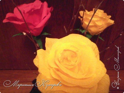 Конфетно-цветочный подарок фото 2