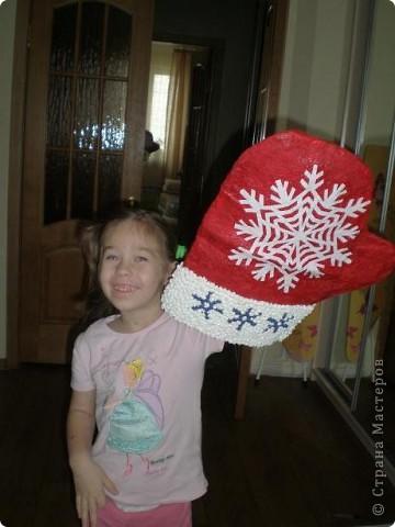 Рукавичка для Деда Мороза фото 1