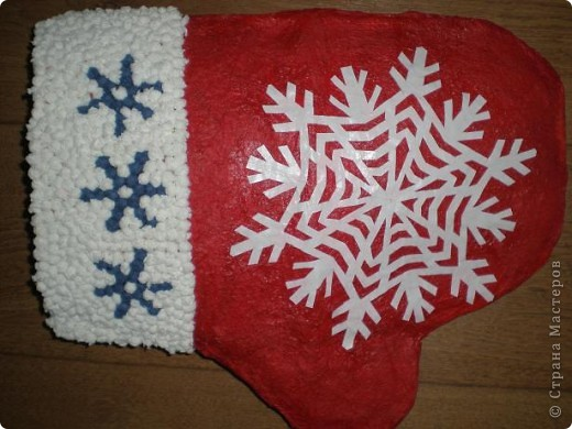 Рукавичка для Деда Мороза фото 2