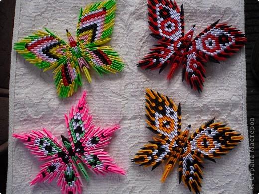 """Вот ещё одна коллекция моих бабочек. Как обычно """"поиграла"""" с цветом и немного изменила форму. фото 2"""