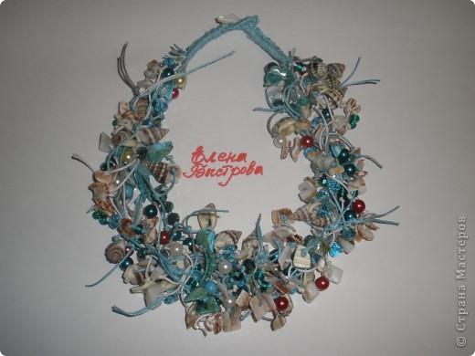 Комплект Бирюзовая сказка. выполнен из полимерной глины, сваровски, бирюзы, ажурных бусин и чашечек.   фото 14