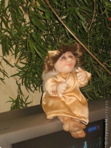Сшила в подарок ангелочка фото 2