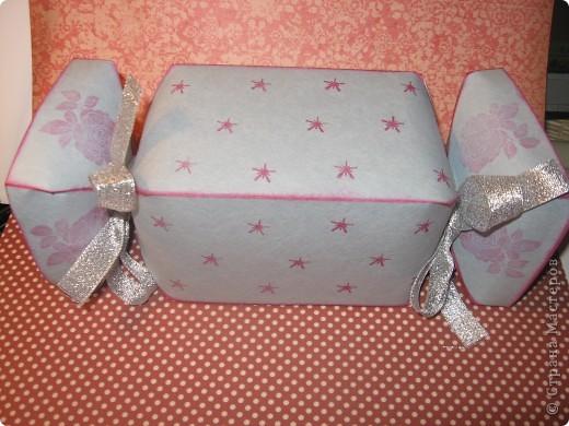 Представляю вам упаковку-конфетку для подарка ребёнку. фото 2