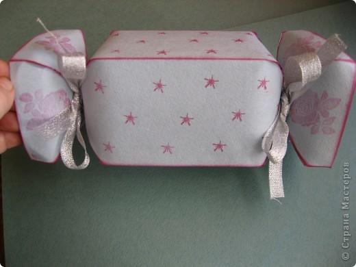 Представляю вам упаковку-конфетку для подарка ребёнку. фото 1