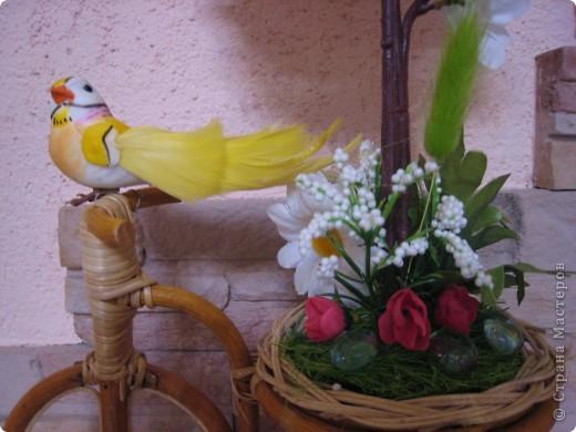 Одна бессонная ночь и 4 подарочка есть... Самой Очень нравится велосипед с ромашками и чайной розой. фото 4