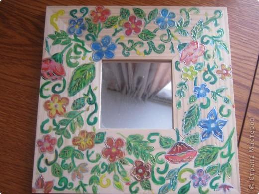 Роспись зеркала фото 3