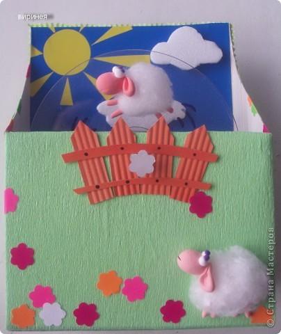 """Головки и лапки овечек из детской самозастывающей пластики. """"Руно"""" - вата. фото 2"""