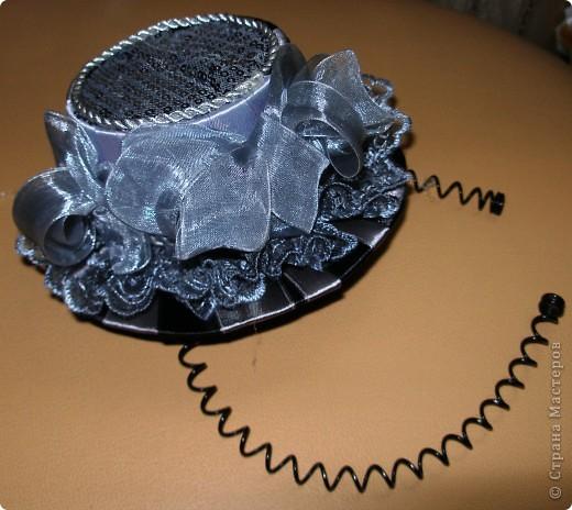 Приготовила себе шляпку к утреннику, буду играть Тоску - бесцветную. фото 9