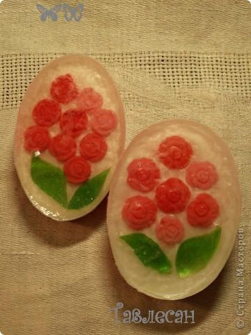 """Мыло """"Розовый букет"""" фото 1"""