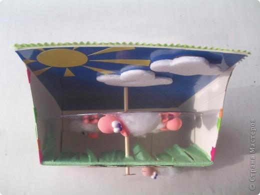 """Головки и лапки овечек из детской самозастывающей пластики. """"Руно"""" - вата. фото 3"""
