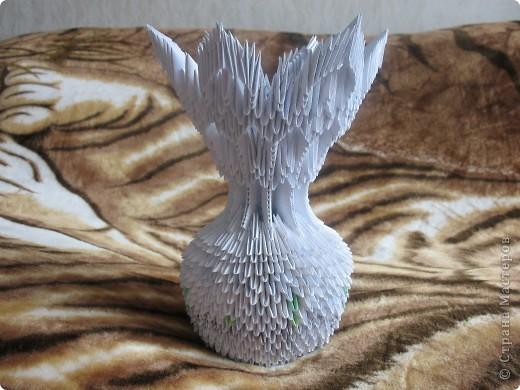 вот такая вазочка у меня образоавлась фото 1