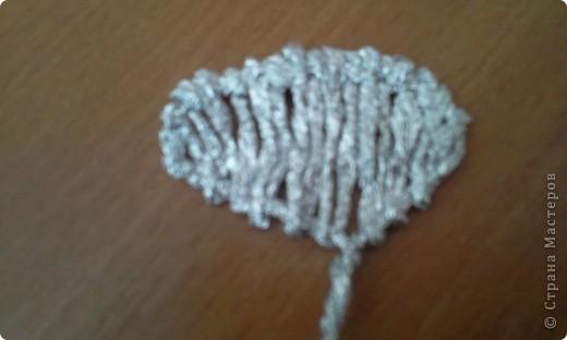 По росьбе выставляю МК розы из фольги Начало работы описанов МК лилии из фольги фото 12