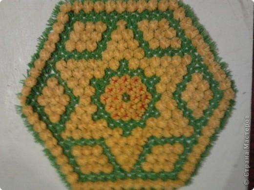 Плетение салфеток на рамке.  фото 1