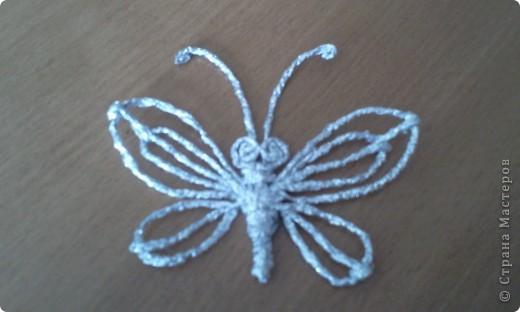 Вот такую бабочку я сделала фото 1