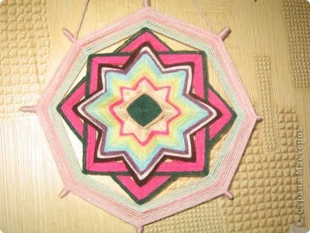 мандала розовая фото 3