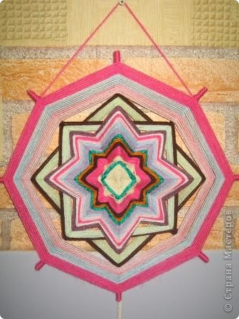 мандала розовая фото 1