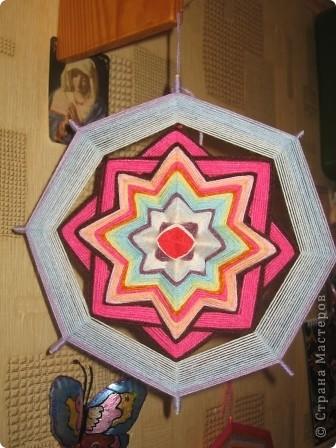 мандала розовая фото 2