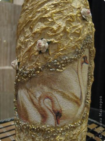 Вот такой подарок сделала на Золотую Свадьбу родителям сестры (для ее свекрови и свекра)!  Фотографии получились немного косоватые, уж простите за качество! фото 3