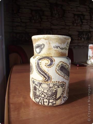 Вот сделала для себя любимой баночки под кофе и чай фото 5