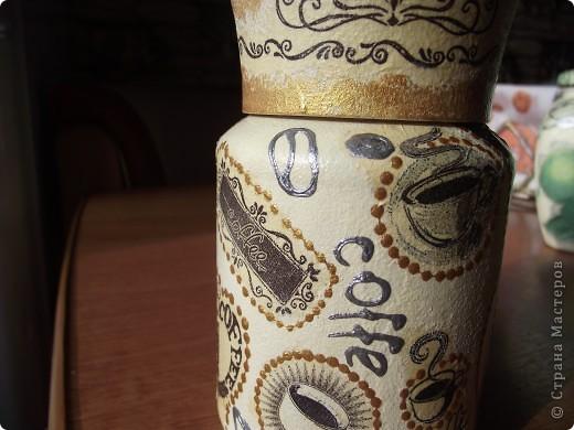 Вот сделала для себя любимой баночки под кофе и чай фото 3