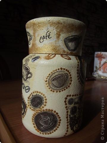 Вот сделала для себя любимой баночки под кофе и чай фото 4