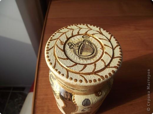 Вот сделала для себя любимой баночки под кофе и чай фото 6