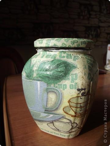 Вот сделала для себя любимой баночки под кофе и чай фото 8