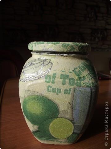 Вот сделала для себя любимой баночки под кофе и чай фото 10