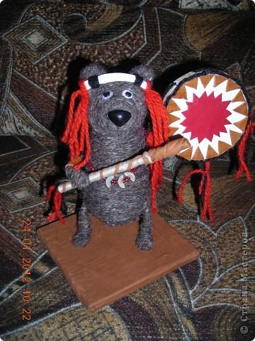 медведь шаман