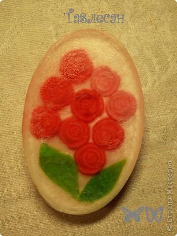 """Мыло """"Розовый букет"""" фото 3"""