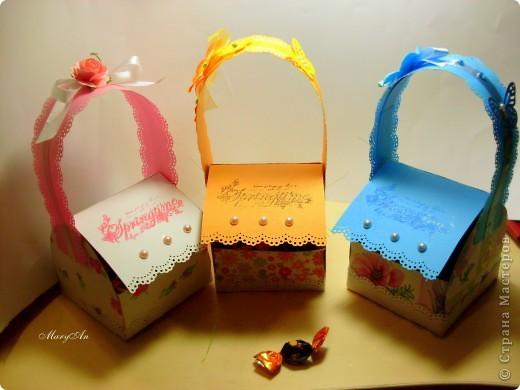 К празднику подготовила сладенькие подарочки вот в такой упаковке) фото 1