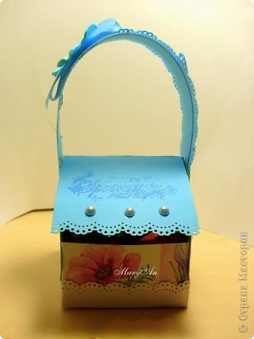 К празднику подготовила сладенькие подарочки вот в такой упаковке) фото 5