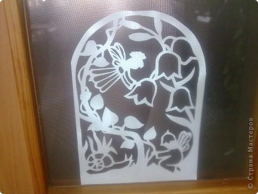 """Когда-то я очень расстроилась, что в мою библиотеку двери стекляные. Теперь я этому рада! Меняю """"витражи"""" по своему усмотрению. Сегодня - вессение! фото 5"""