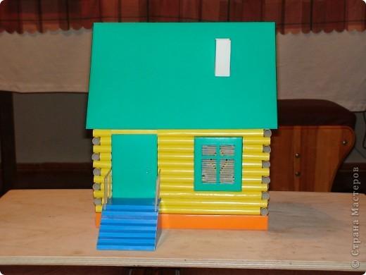 деревенский домик фото 1