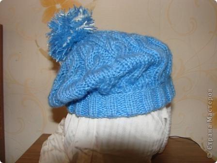 """здравствуйте, жители, см. увидела здесь в стране шарфики с симпотичными """"мордашками"""" и не удержалась связала свой. в комплект к нему простую шапульку. получился подарочек. фото 3"""