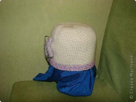 """здравствуйте, жители, см. увидела здесь в стране шарфики с симпотичными """"мордашками"""" и не удержалась связала свой. в комплект к нему простую шапульку. получился подарочек. фото 8"""