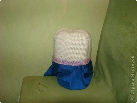 """здравствуйте, жители, см. увидела здесь в стране шарфики с симпотичными """"мордашками"""" и не удержалась связала свой. в комплект к нему простую шапульку. получился подарочек. фото 9"""