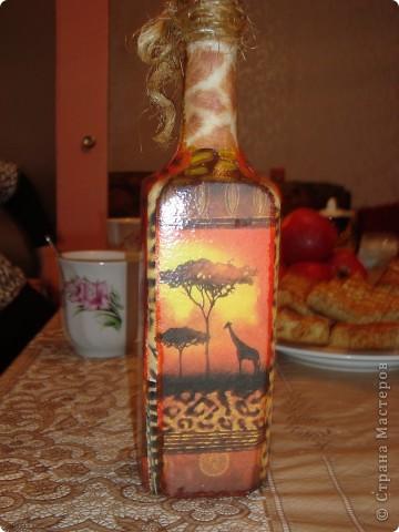 "Бутылочка ""Африка! фото 2"